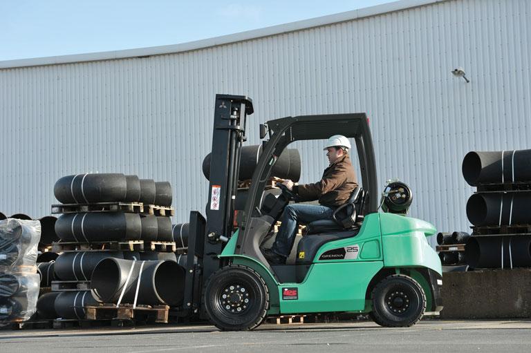 LPG vysokozdvižné vozíky mitsubishi